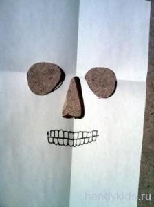 урок по изготовлению маски черепа