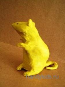 Пластилиновая мышь