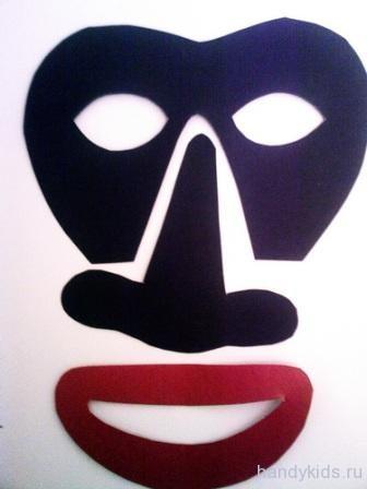 маски негров