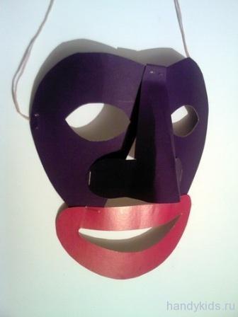 готовая маска негра