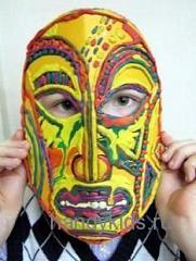 Пластилиновая маска
