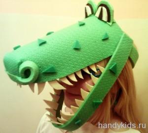 Маска крокодил-дракон