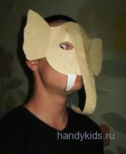 Слон -маска