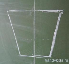 Рисуем симметричные предметы