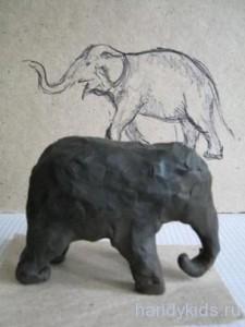 Лепим слона