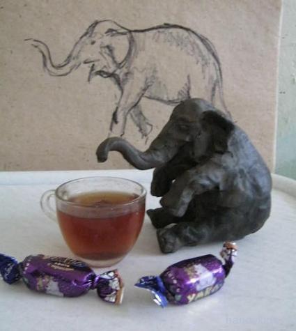Чаепитие слона
