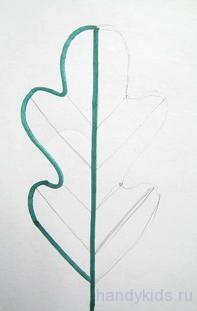 Как рисовать фигуры с осью симметрии