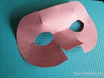 Как сделать маску поросёнка