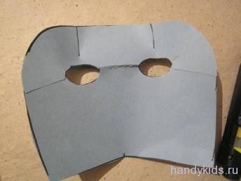 Как сделать маску ёжика своими руками
