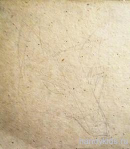 Нарисуем  мордочку лисы