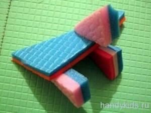 Как делать игрушки из туристических ковриков