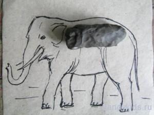 Слепим слона