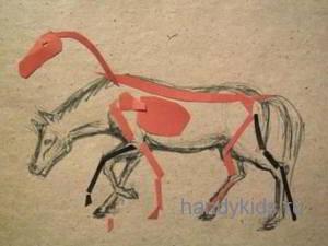 Меняем позу лошади