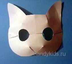 Заготовка для маски кошки