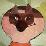 Как сделать маски собаки и волка из картона