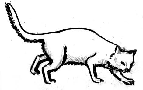 Рисуем кота 01