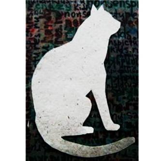 Силуэт кошки (кота)
