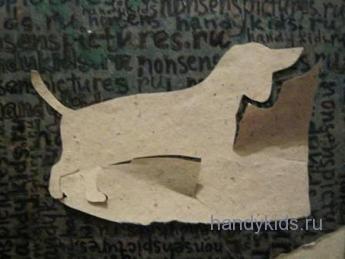 Вырезание силуэтов животных из бумаги
