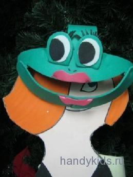 Маска -лягушка