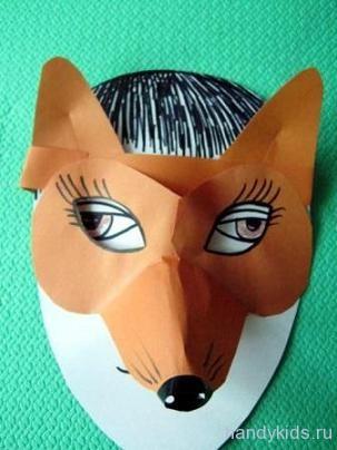 Как и из чего сделать маску лисы