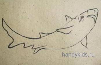 Рисунок акулы