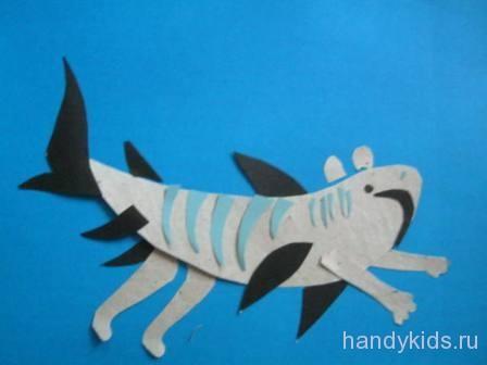 Тигровая Акула!
