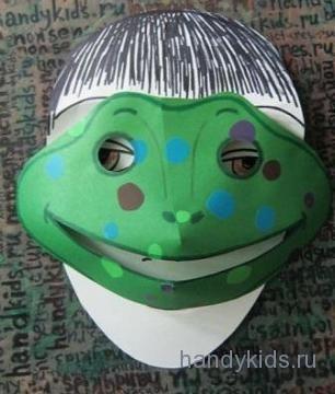 Маска-лягушка