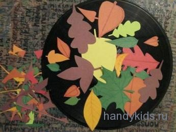 Ковёр осенних листьев