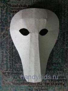 Сделаем маску лошади из бумаги