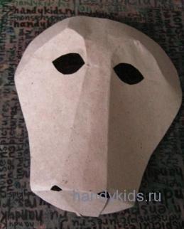 Карнавальная маска -лошадь