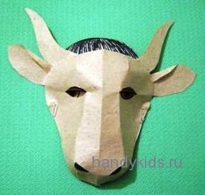 Маска корова