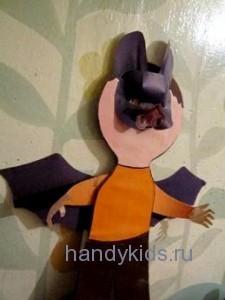 Летучая мышь-карнавальный костюм
