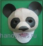 Маска панды 1