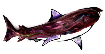 Лепка Акула -этап 2