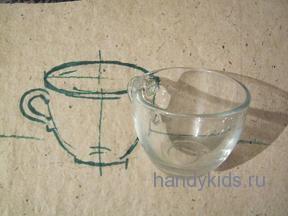 Зарисовка чашки.