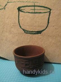 Рисунок чашки