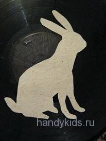 Силуэт зайца