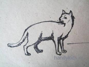 Рисунок- кошка