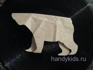 Выкройка модели медведя