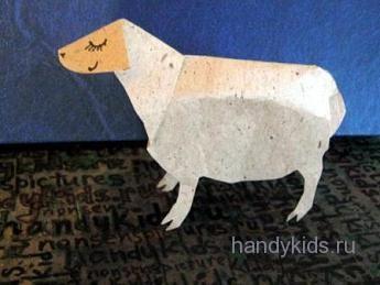 Модель овечки