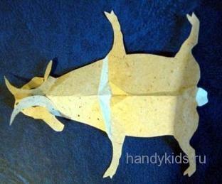 Сделаем модель козла