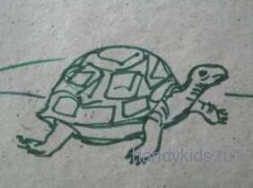 Картинка- черепаха