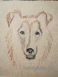 Рисуем собаку