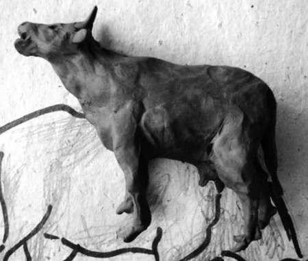 Пластилиновая корова