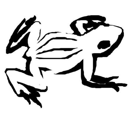 Рисунок Лягушка 7