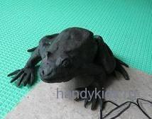 Как слепить лягушку