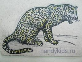 Как нарисовать леопарда