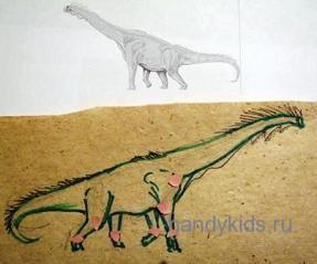 Как выглядел брахиозавр в действительности?