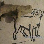 Как слепить собаку из пластилина