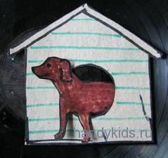 Собака для конуры